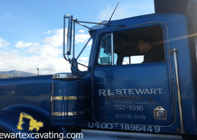 rl stewart excavation services wenatchee valley site prep driveway demo