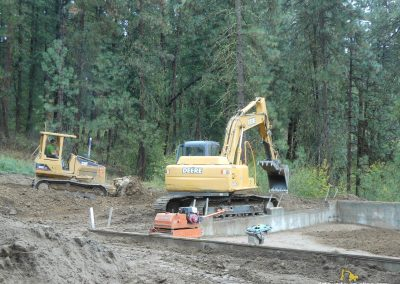 Backfilling and Framing_rl stewart excavation