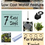 7 Steps - How To Build An Easy Low Cost Water Feature