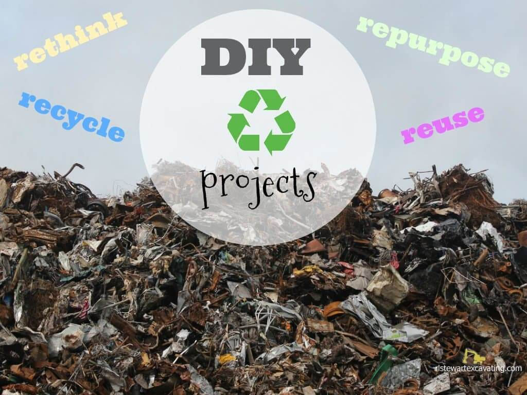 Home DIY Projects to Recycle Rethink Repurpose Reuse