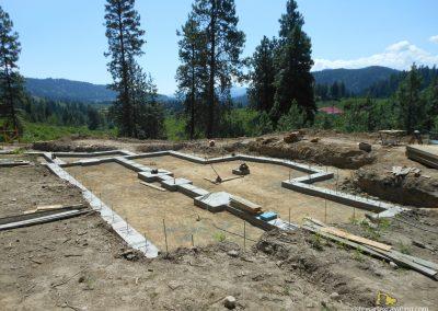 excavation site prep dirt work footings