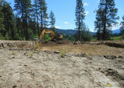 excavation site prep dirt work