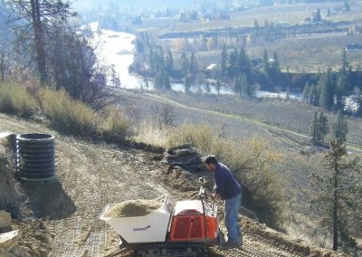RL Stewart Excavating Wenatchee Pipe Line