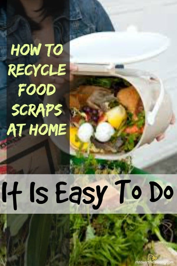 Recycle food scraps at home