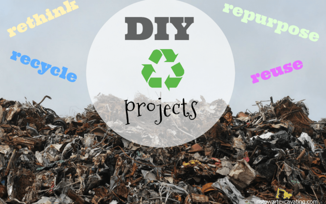 Easy Home DIY Recycling Projects